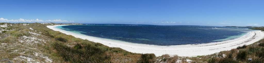 Beach Panorama Rottnestisland
